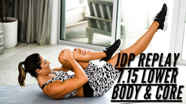 JDP REPLAY 7.15 Cardio SCulpt Lower B...