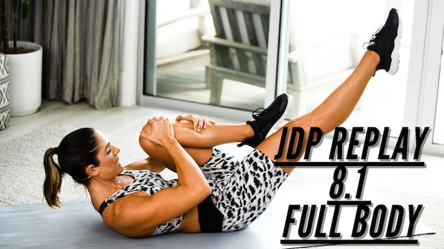 JDP REPLAY 8.1 Cardio Sculpt Full Body