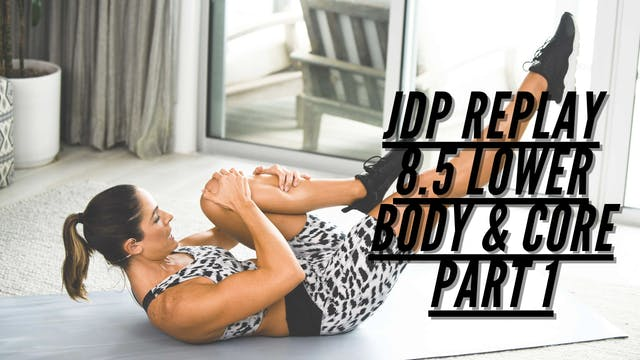 JDP REPLAY 8.5 Cardio Sculpt Lower Bo...
