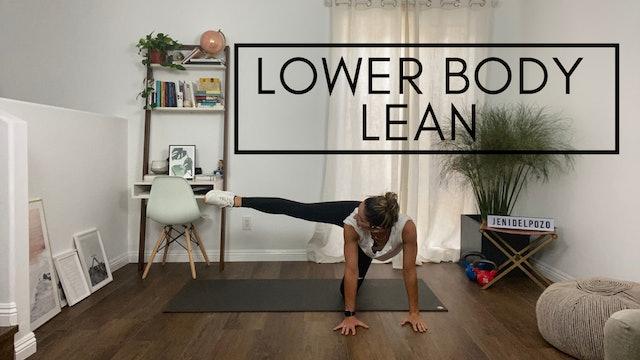 Lower Body Lean 30
