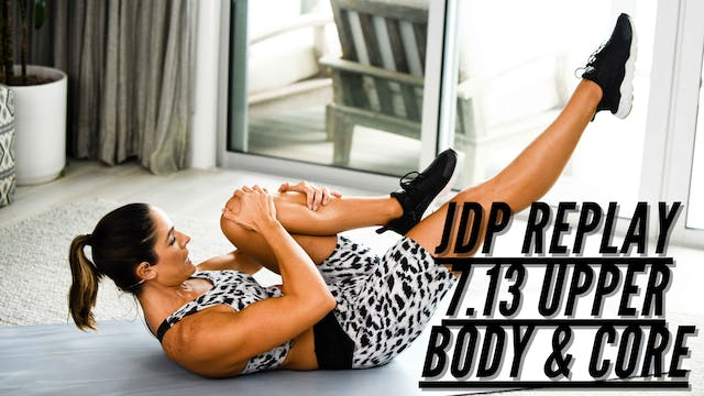 JDP REPLAY 7.13 Upper Body & Core