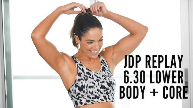 JDP Replay 6.30 Cardio Sculpt Lower B...