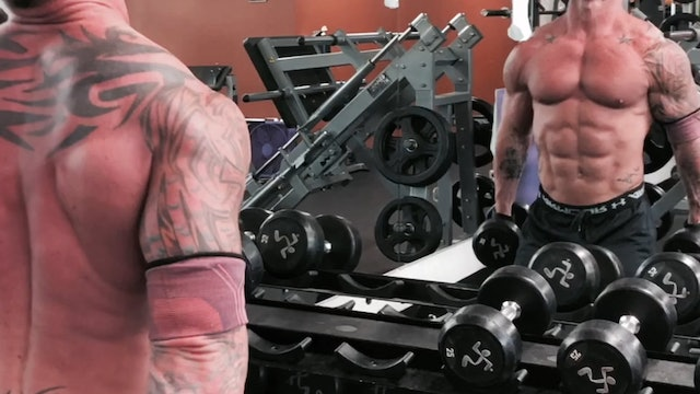 Biceps- Double Dumbbell Curls