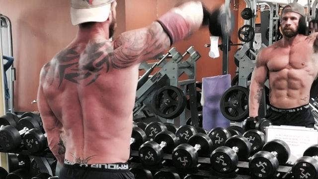 Shoulders- Front Raises