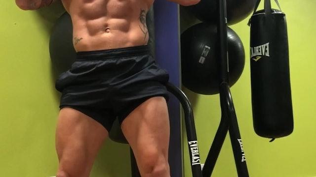 Quads, Calves, Abs, Shoulders