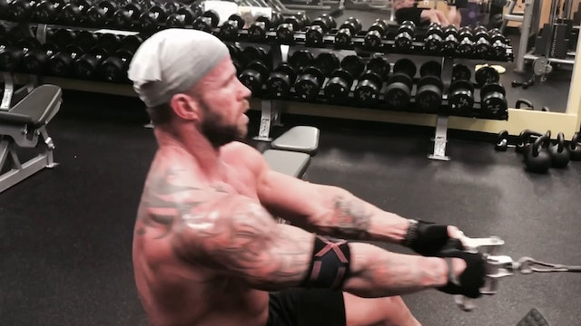 Back- Seated Cable Rows