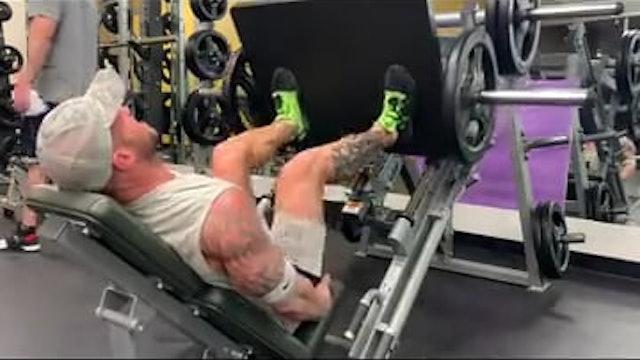 Quads Hamstring Glutes- Leg Press