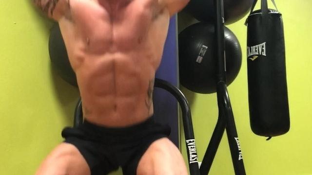 Shoulder and Legs- Squat Press