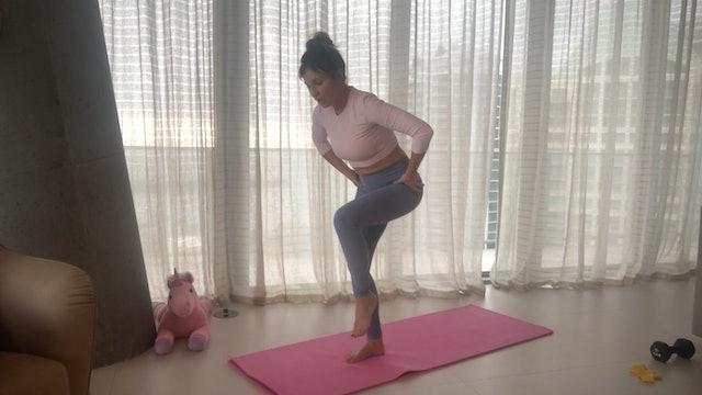 18 Min Lower Body & Abs w/ Tamara
