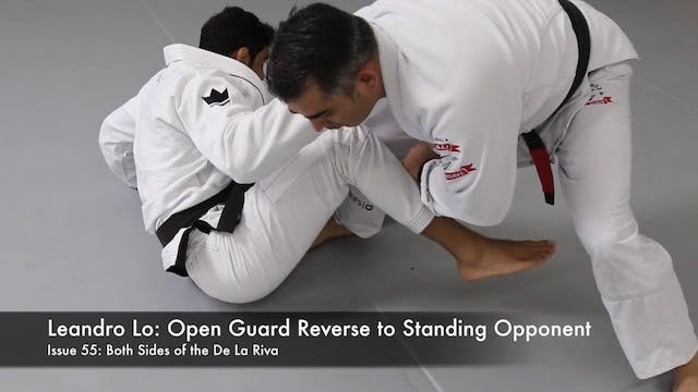 Open Guard Reverse to Standing Oppone...