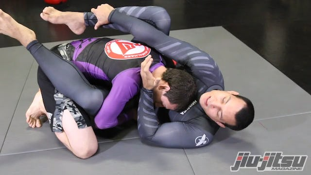 Rubber Guard to Triangle To Kimura - Vinny Magalhaes