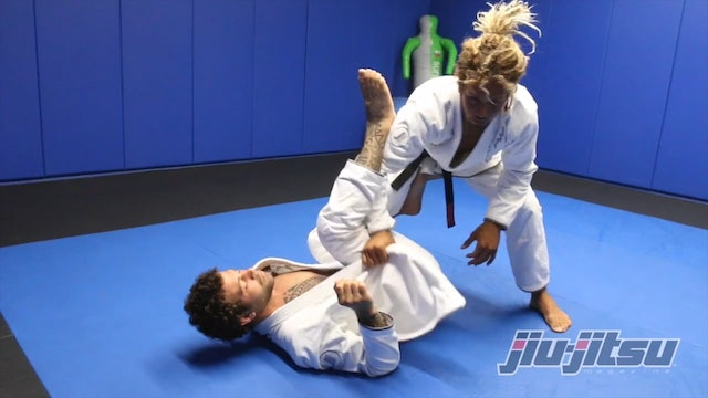 Guard Pass Using The Lapel - Magid Hage