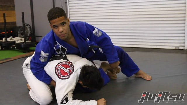 Crucifix Armbar From Turtle Control - Isaque Bahiense