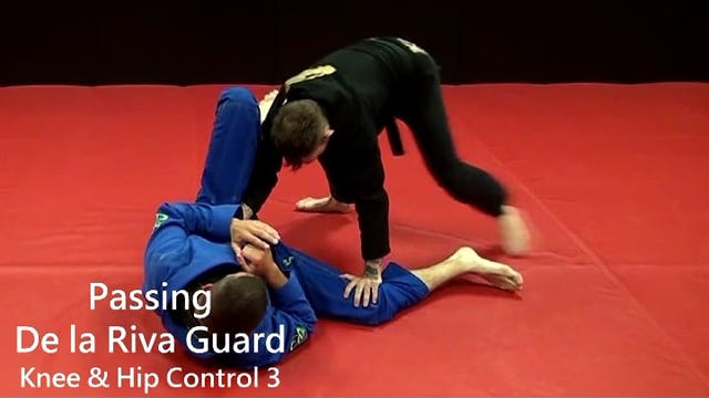 23. Passing DLR Hip Knee Control Pass 3