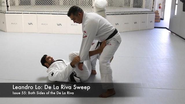 De La Riva Sweep - Leandro Lo