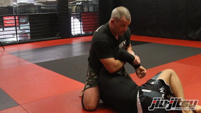 Kimura From Side Control - Jocko Willink