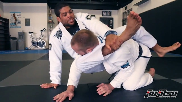 Sweep Attempt to Triangle - Andre Galvao