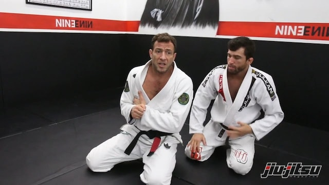 Clock Choke Defense to Side Control - Eduardo Telles