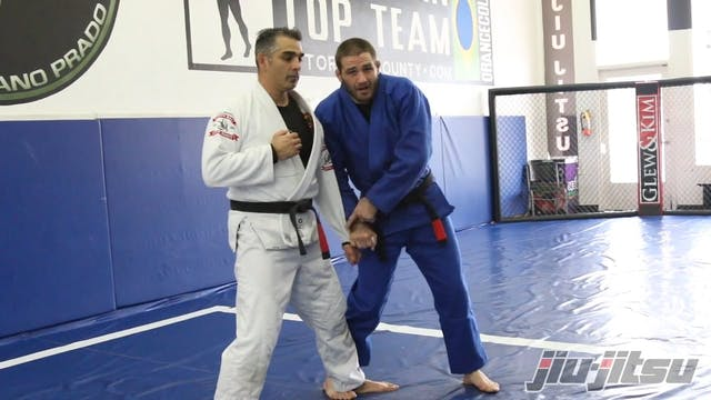 Opposite Sided Foot Sweep - Travis St...