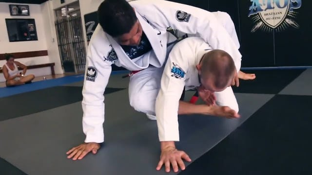 Toe Hold from Upside Down Guard - Andre Galvao