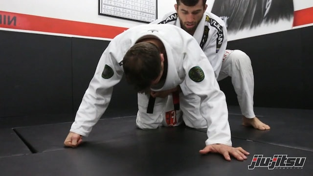 Knee Bar from Turtle Guard - Eduardo Telles