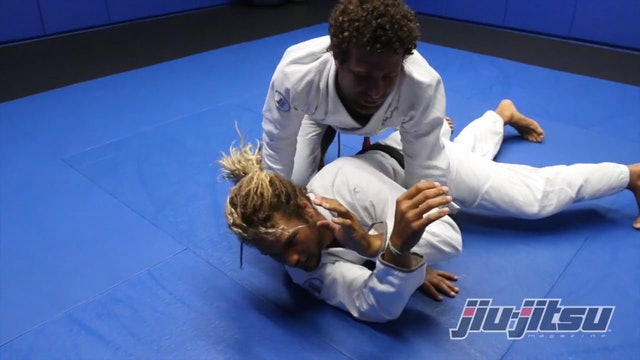 Baseball Choke From In Sit-Up Guard - Magid Hage