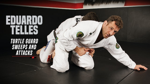Eduardo Telles - Turtle Guard Sweeps and Attacks