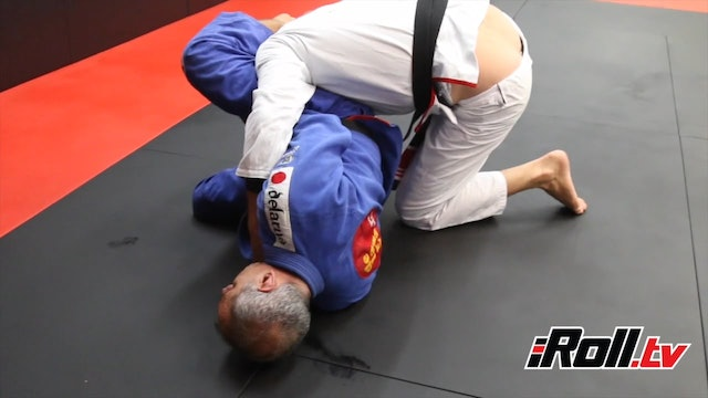 Double Underhook Pass Counter - Ricardo De La Riva