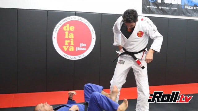DLR Sweep Against a Standing Opponent - Ricardo De La Riva