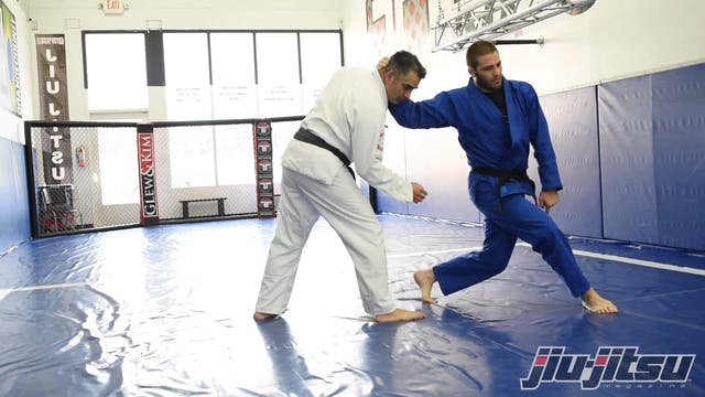 Same Sided Foot Sweep - Travis Stevens