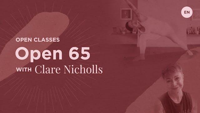 65m Open Class - Clare Nicholls