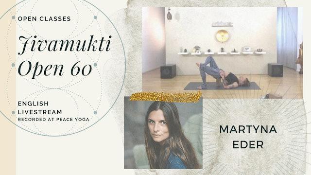 [livestream] 07 May '20 60m Jivamukti Open:60 - Martyna Eder (auf Deutsch)