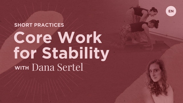 30m Class 'Core Work for Stability' - Dana Sertel