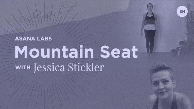 [Live] 30m Asana Lab 'Tadasana Mountain Seat' - Jessica Stickler