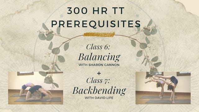 Signature Class 6 & 7 - Balancing & Backbending