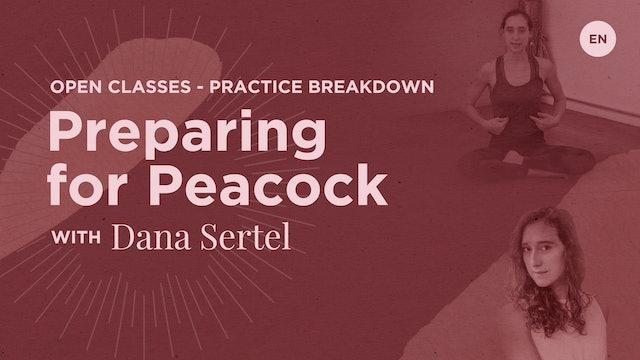 60m Class 'Chest & Shoulder Class for Pincha Mayurasana' - Dana Sertel