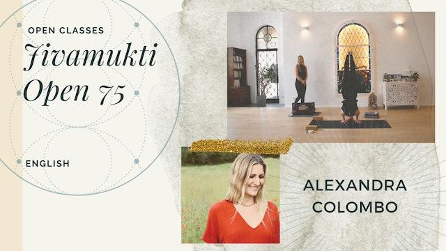 75min Open Class - Alexandra Colombo (in English)
