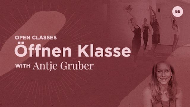 03 Dec '19 Open Klasse 67m - Antje Gruber (auf Deutsch)