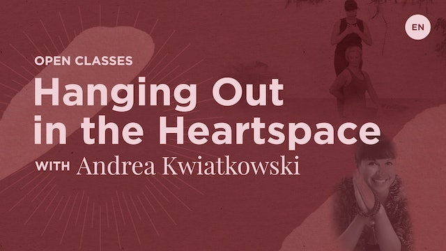 """60m Open """"Hanging Out in the Heart Space"""" - Andrea"""