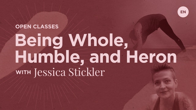 [Live] 75m Open 'Being Whole, Being Humble, Being Heron' - Jessica Stickler