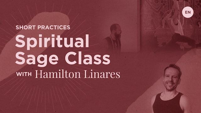 """60min Open """"Spiritual Sage"""" - Hamilton Linares Liboy"""