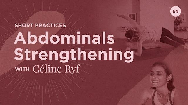 15m Practice 'Abdominals' - Celine Ryf