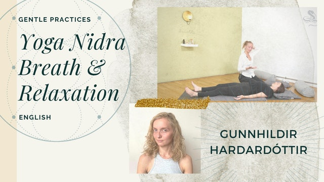 35min Yoga Nidra Class - Gunnhildur Hardardóttir (in English)