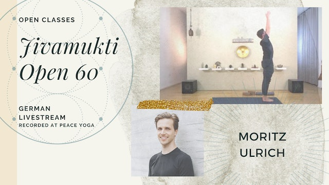 [livestream] 01 May '20 60m Jivamukti Open:60 - Moritz Ulrich (auf Deutsch)