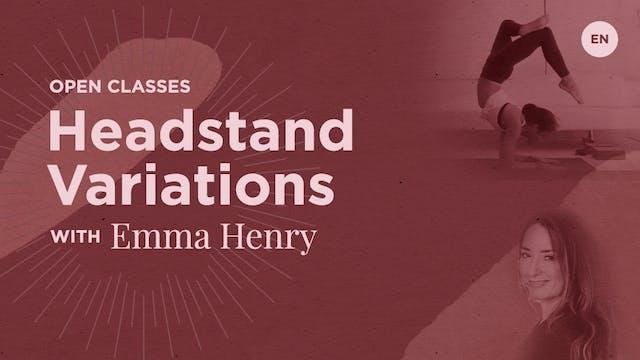 """[Live] 90m Open Class """"Headstand Vari..."""