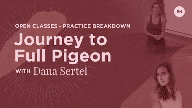 10m Practice Breakdown 'Journey to Kapotasana Deep Backbending' - Dana Sertel