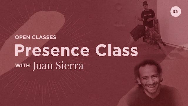 60m Open 'Presence' - Juan Sierra