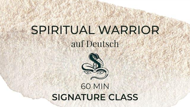 Spiritual Warrior (auf Deutsch) guide...