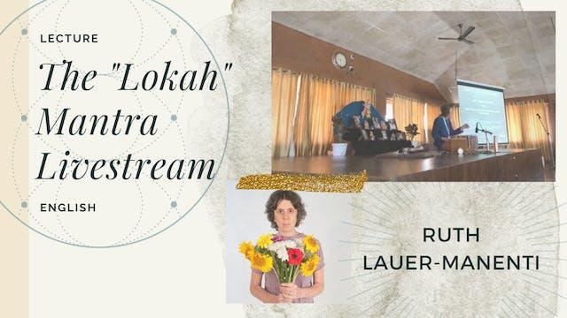 "[livestream] ""Lokah..."" with Ruth"