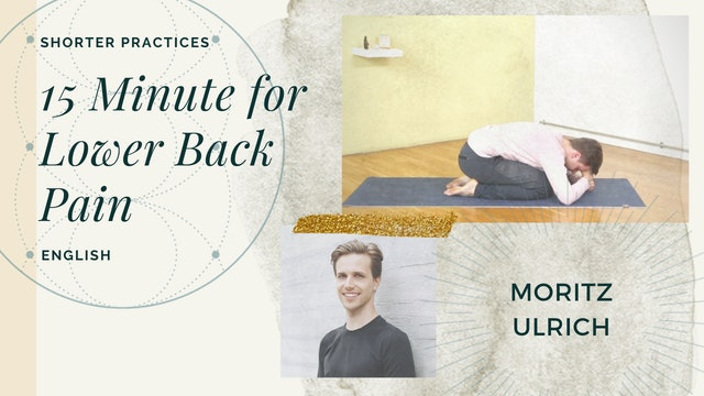 15min Back Pain Practice - Moritz Ulrich (in English)